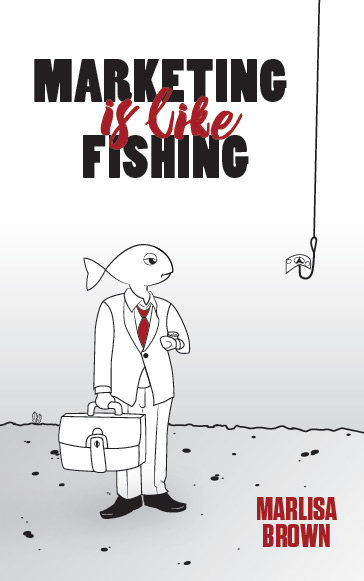 marketing is like fishing cover