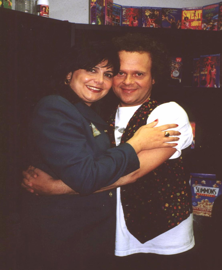Marlisa with Richard Simmons