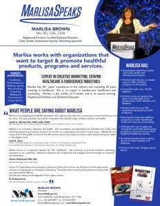 About-Marlisa handout first page